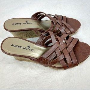 🌸SALE🌸 Montego Bay Club Brown Sandals